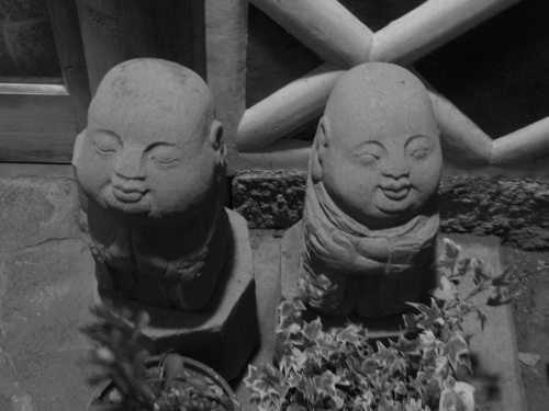 kanaya ryokan garden jizo Kanaya Ryokan Onsen Kanaya Ryokan Onsen kanaya ryokan garden jizo