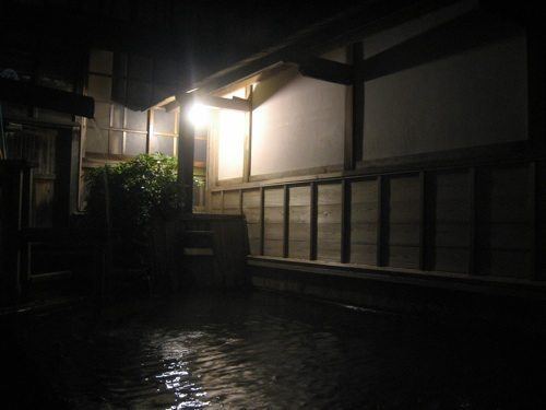 kanaya ryokan outdoor bath