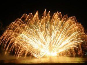 Hanabi in Yumi-ga-hama Hanabi in Yumi-ga-hama fireworks 3