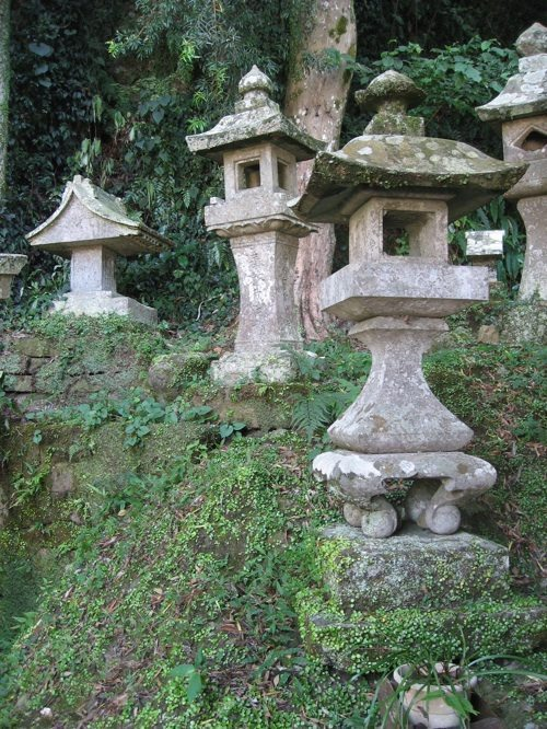 matsuzaki shrine lanterns